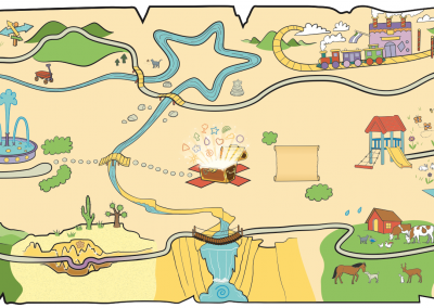 12 Gifts Treasure Map